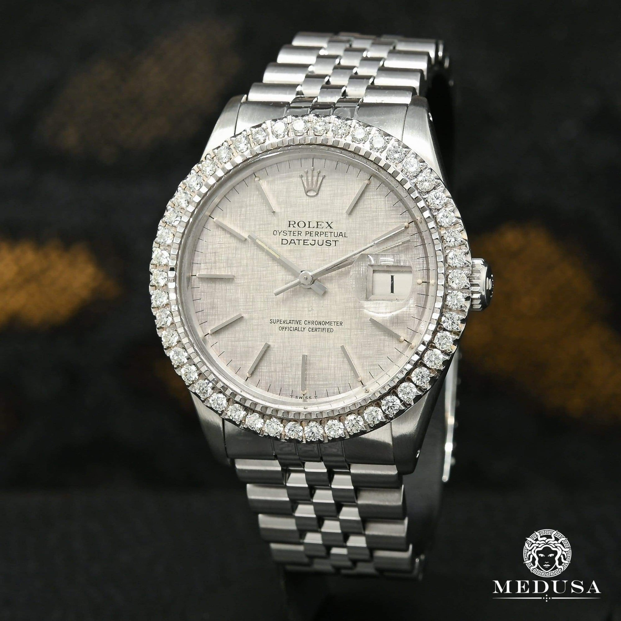 Rolex Datejust 36mm - Stainless Silver Stick
