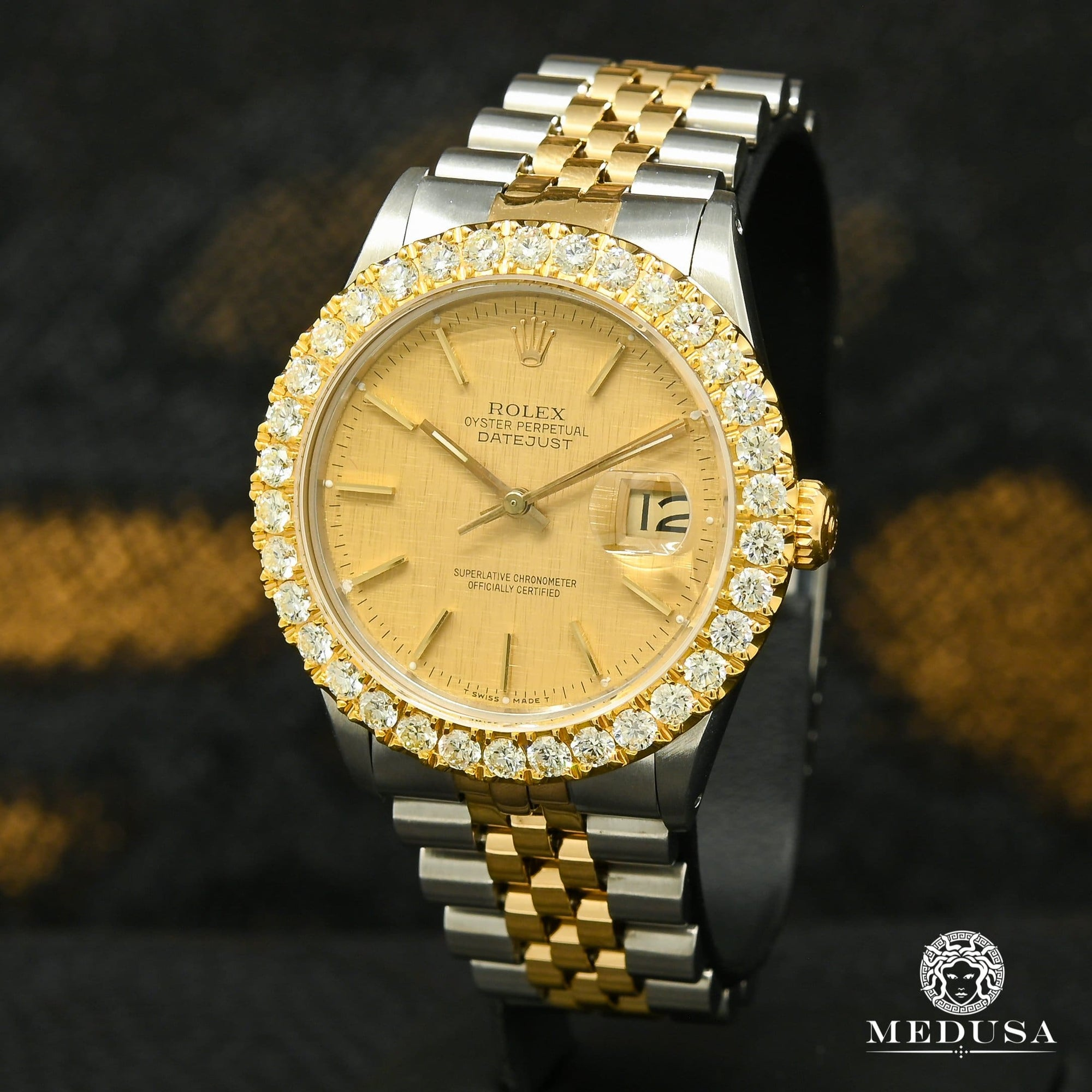 Rolex Datejust 36mm - Champagne Tapestry