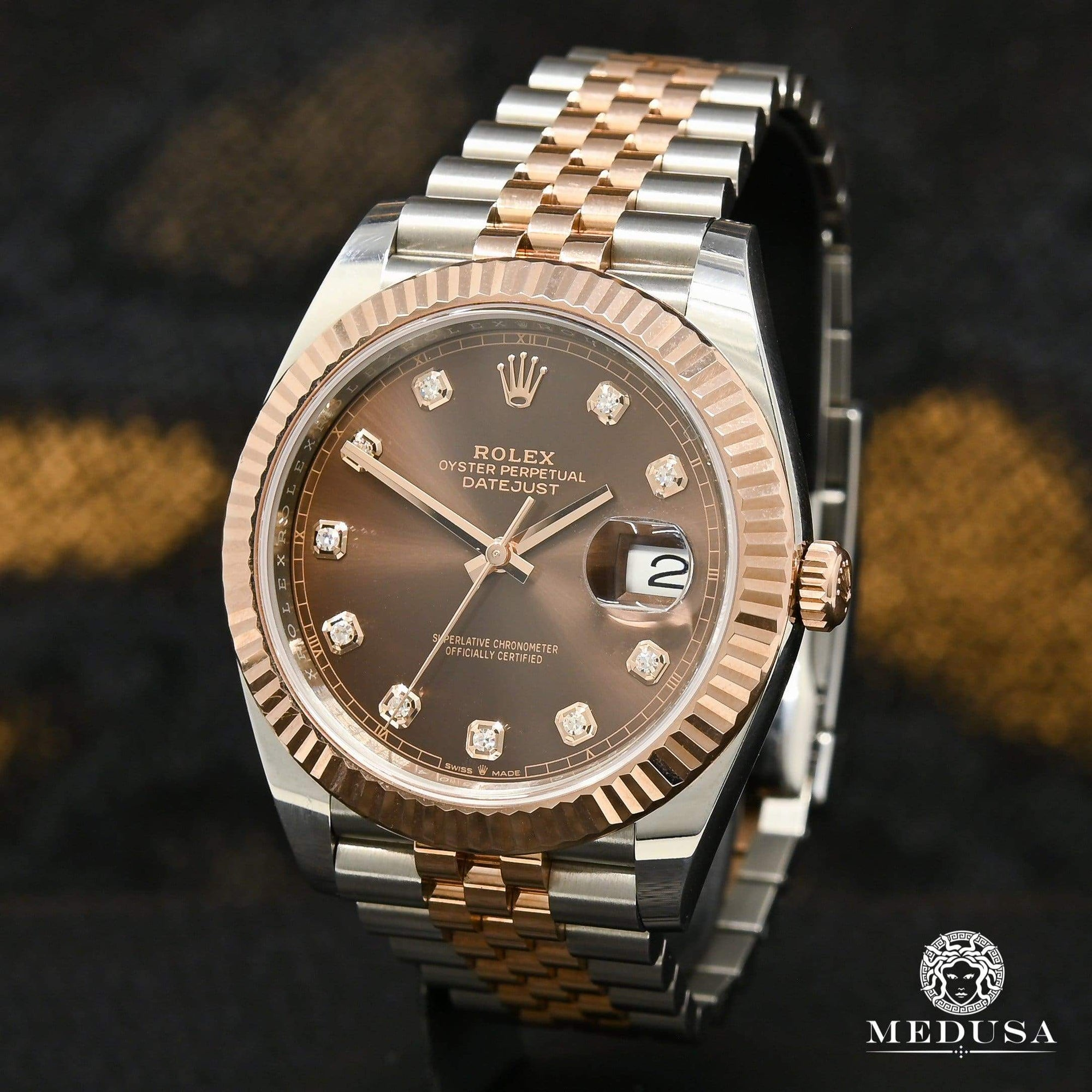 Rolex Datejust 41mm - Everose Chocolate