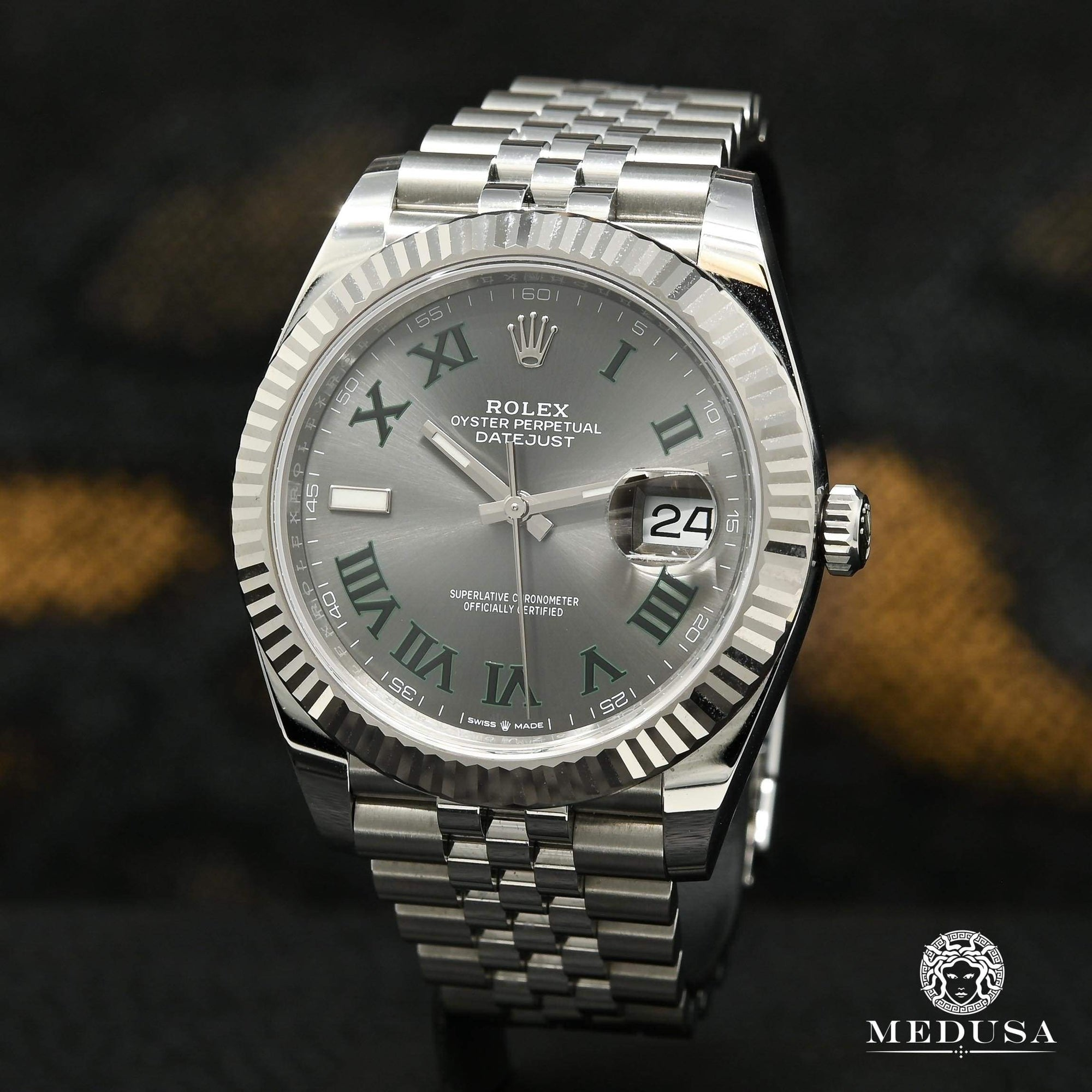 Rolex Datejust 41mm - Fluted Jubilee Wimbledon
