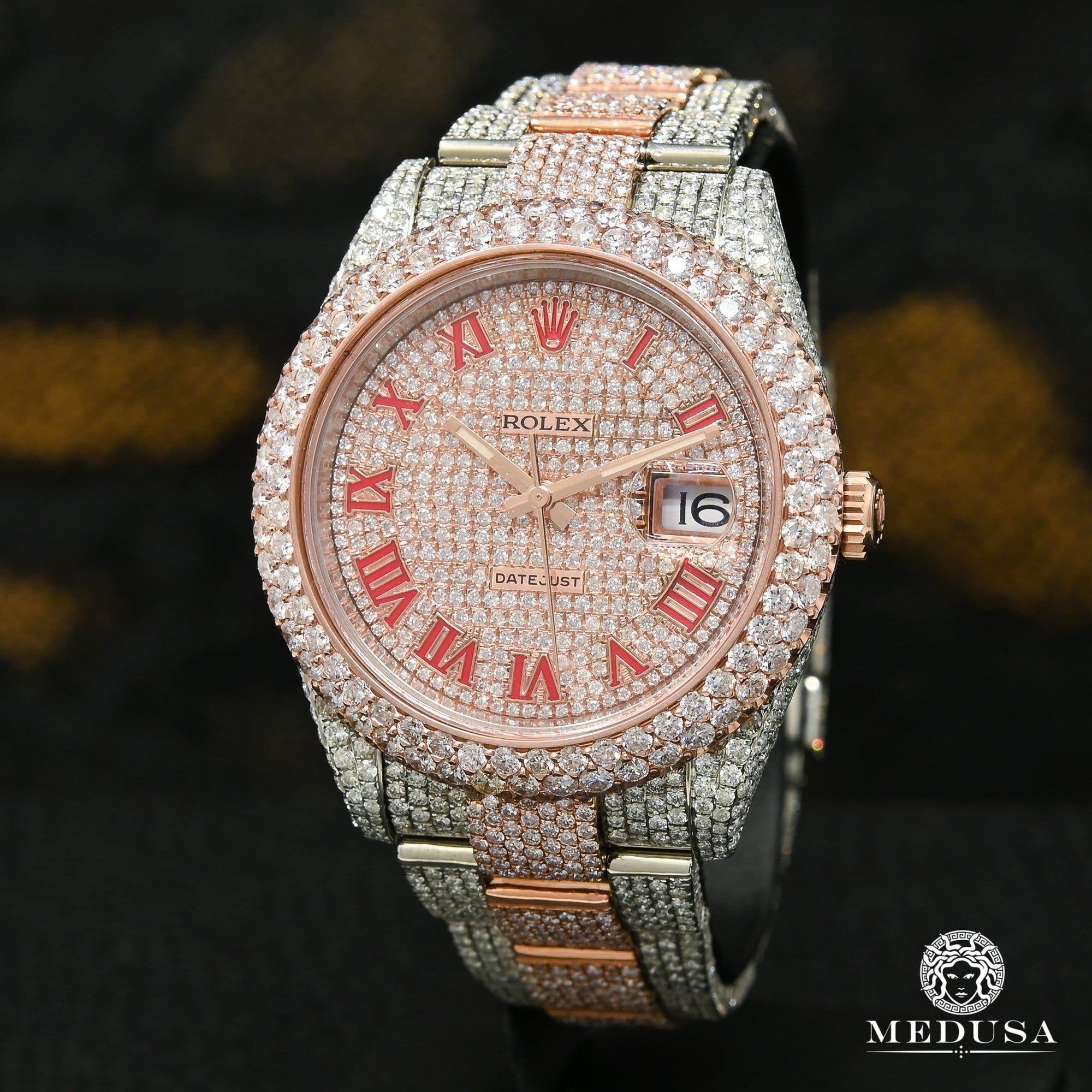 Rolex Datejust 41mm - Full Honeycomb Everose