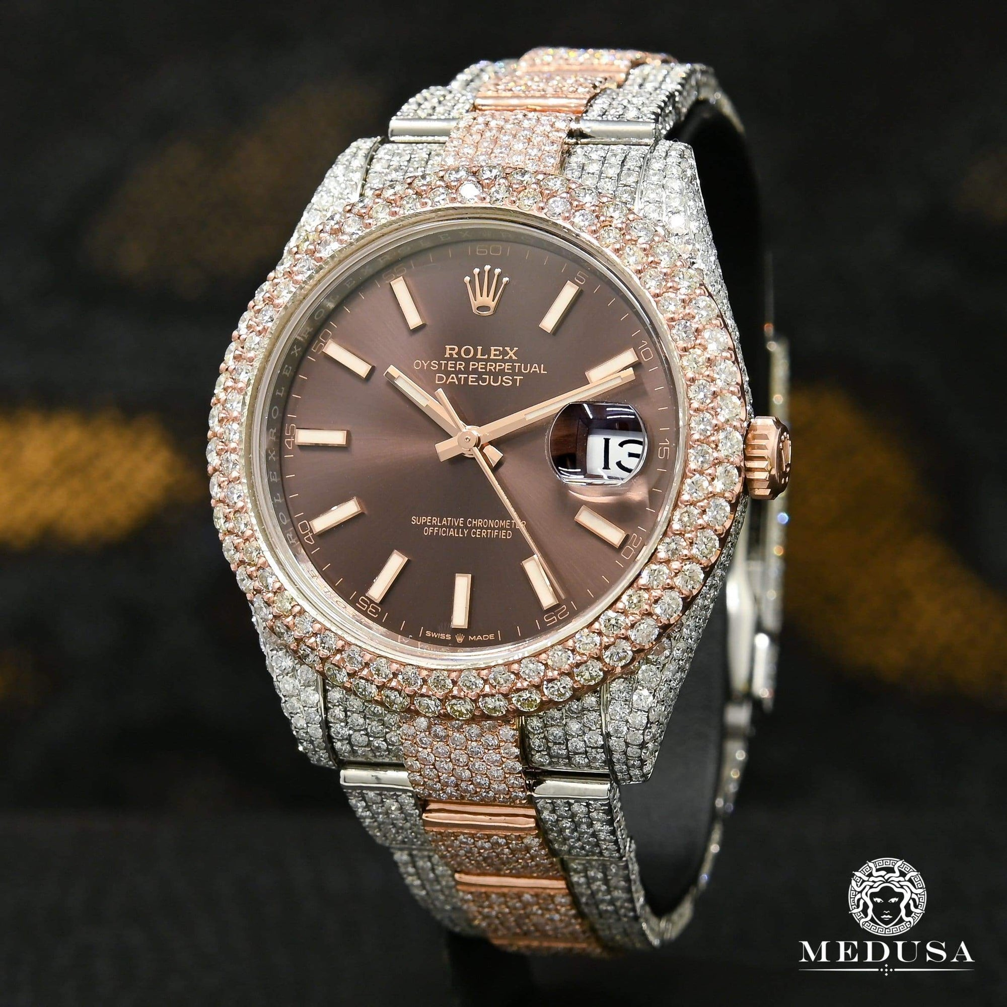 Rolex Datejust 41mm - Honeycomb Everose