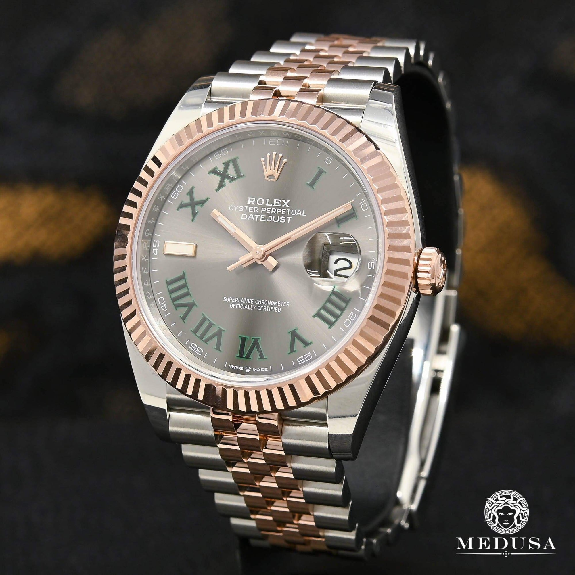 Rolex Datejust 41mm - Jubilee Fluted Everose