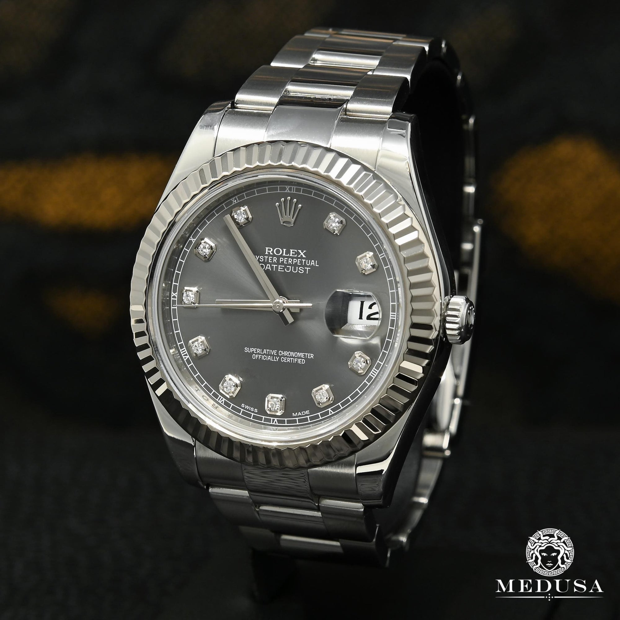 Rolex Datejust 41mm - Oyster Grey