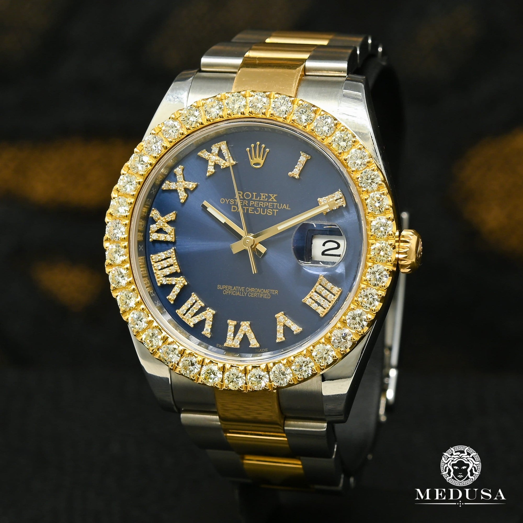 Rolex Datejust 41mm - Blue Roman Oyster