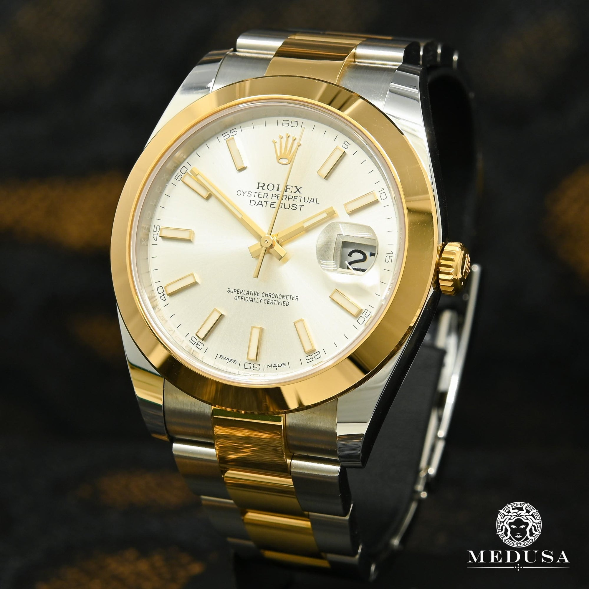 Rolex Datejust 41mm - Silver Stick Dial