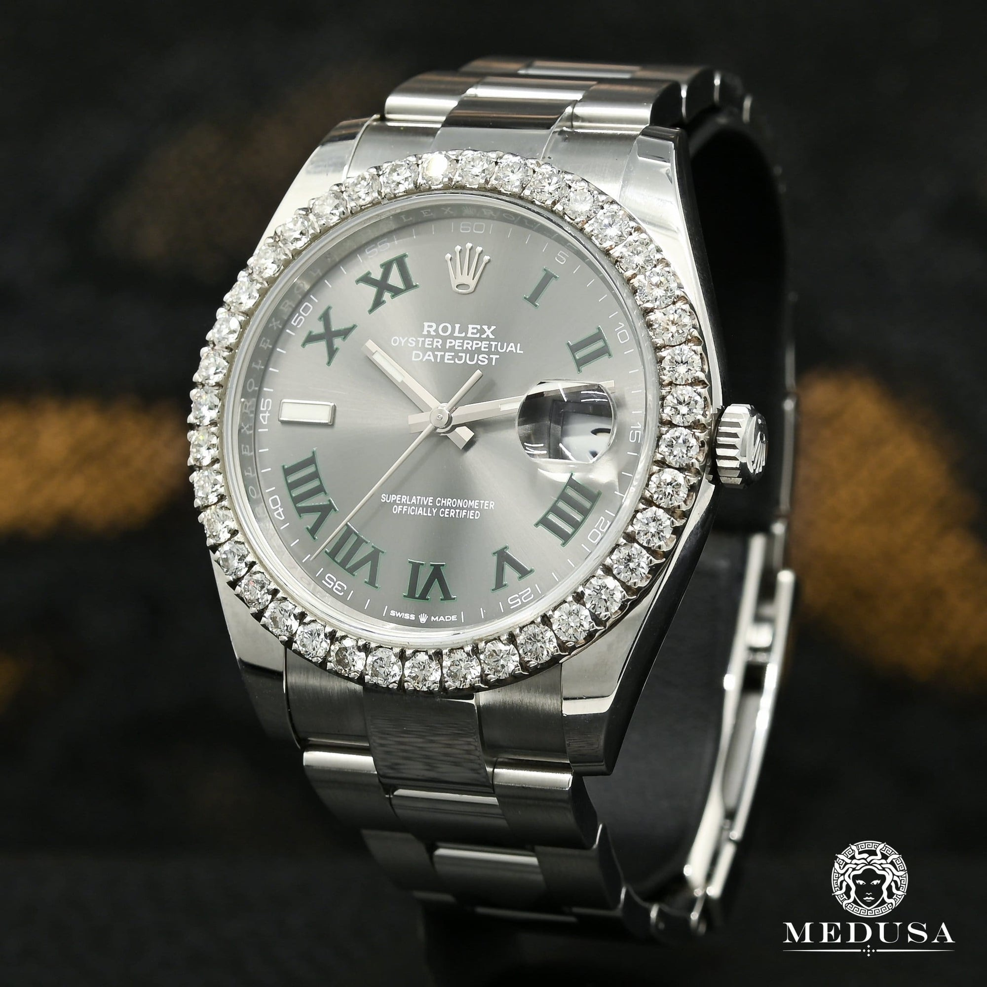 Rolex Datejust 41mm - Wimbledon Iced
