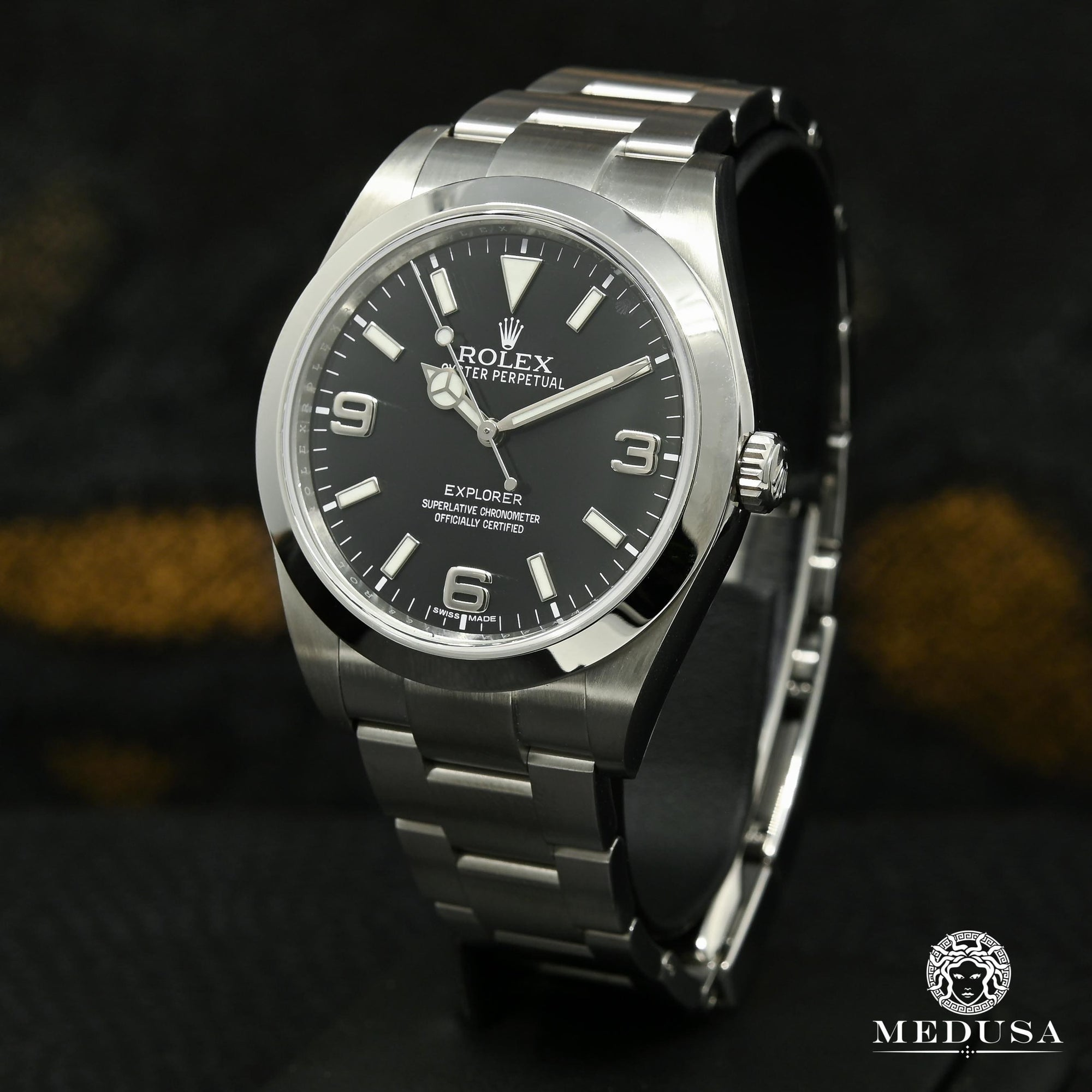 Rolex Explorer 39mm - Black