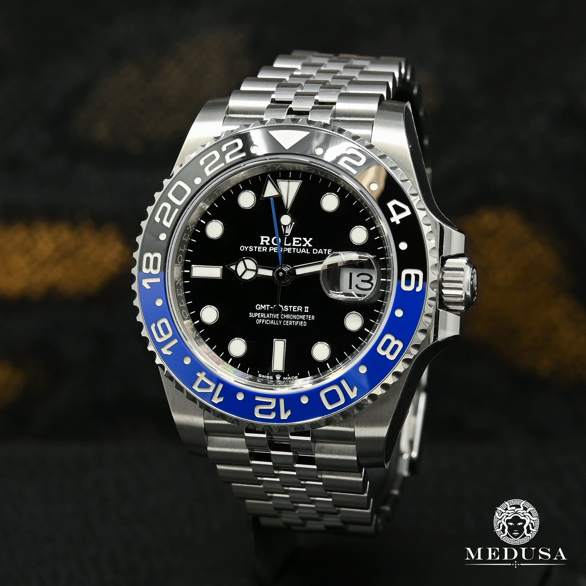 Montre Rolex | Montre Homme Rolex GMT-Master II 40mm - Batgirl Stainless