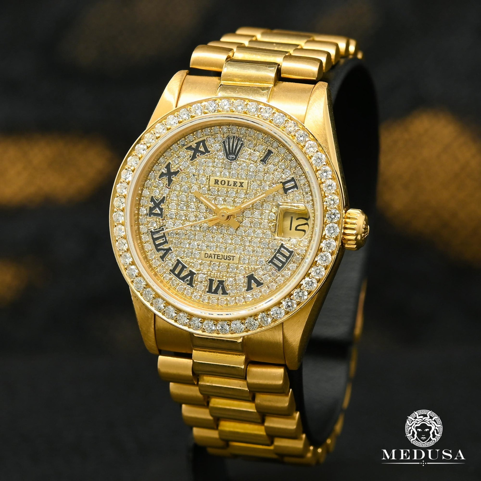 Rolex Lady-Datejust 31mm - President Iced