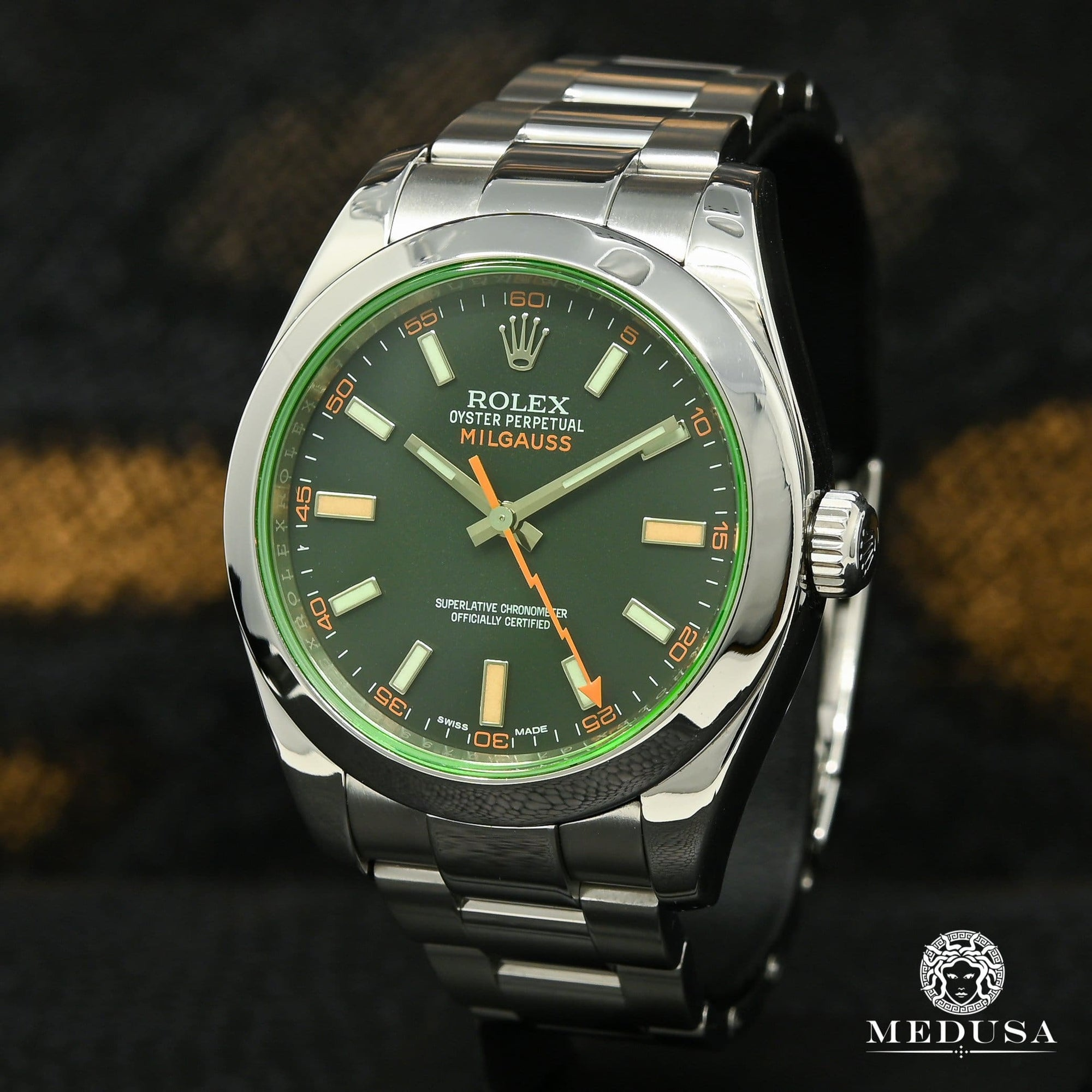 Rolex Milgauss 40mm - Green Crystal