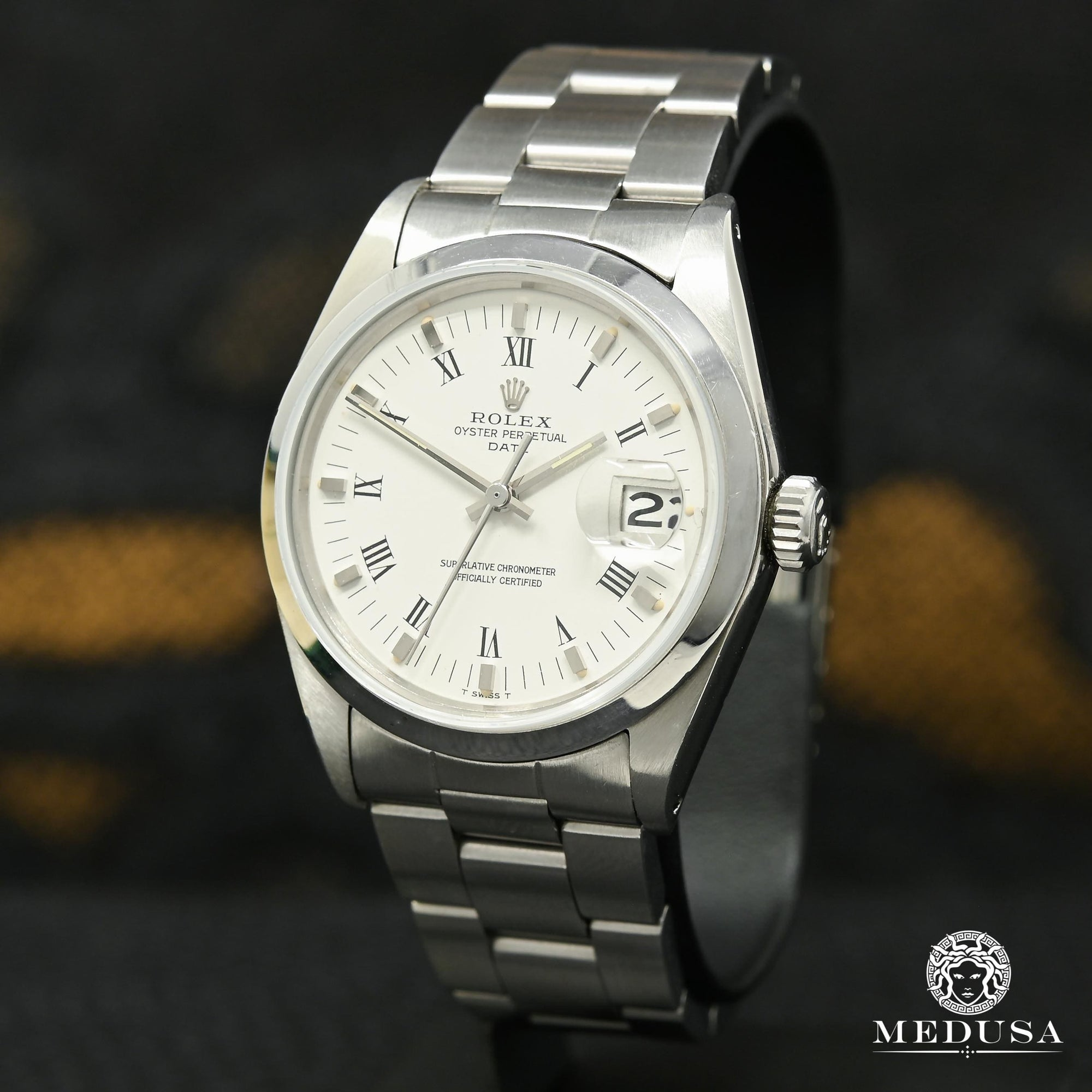 Rolex Oyster Perpetual Date 34mm - White