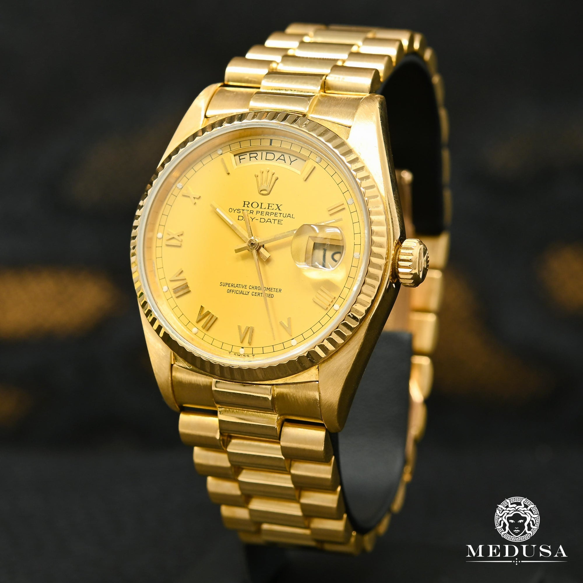 Rolex President Day-Date 36mm - Champagne Romain