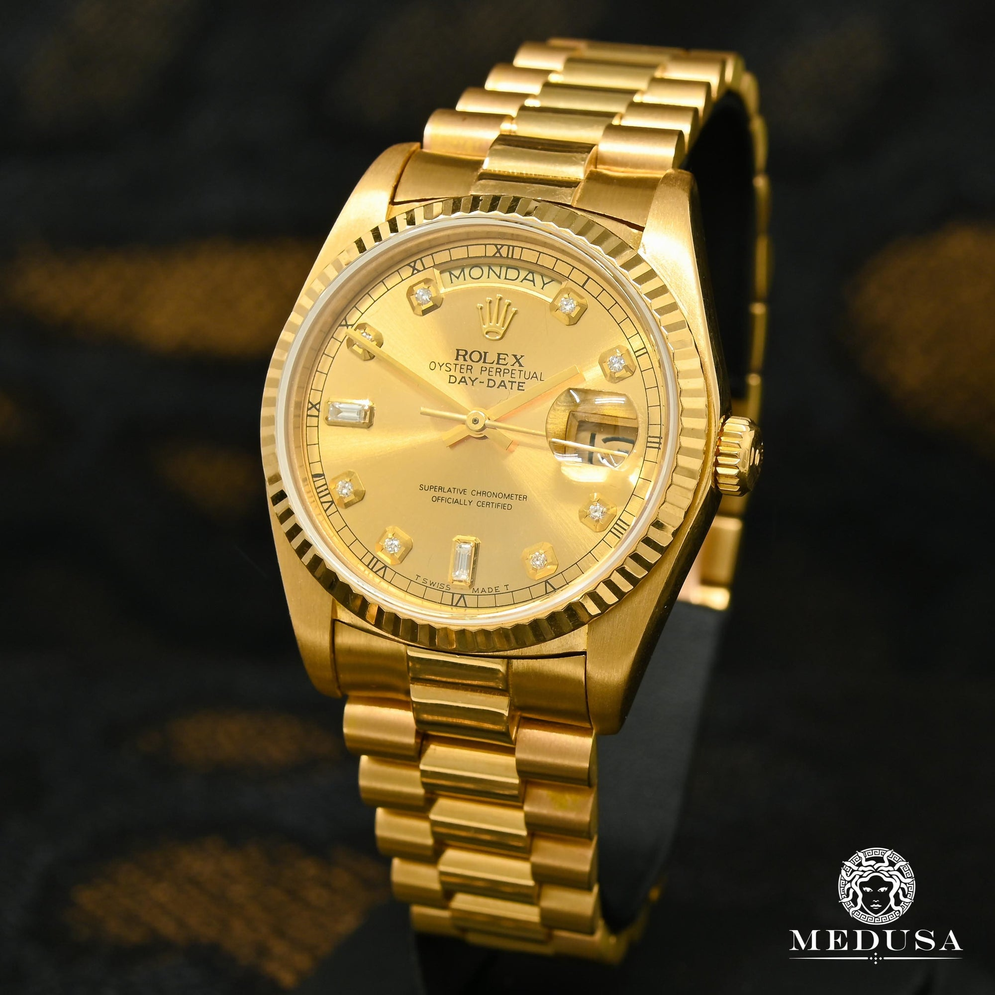 Montre Rolex | Montre Homme Rolex President Day-Date 36mm - Gold Classic Or Jaune