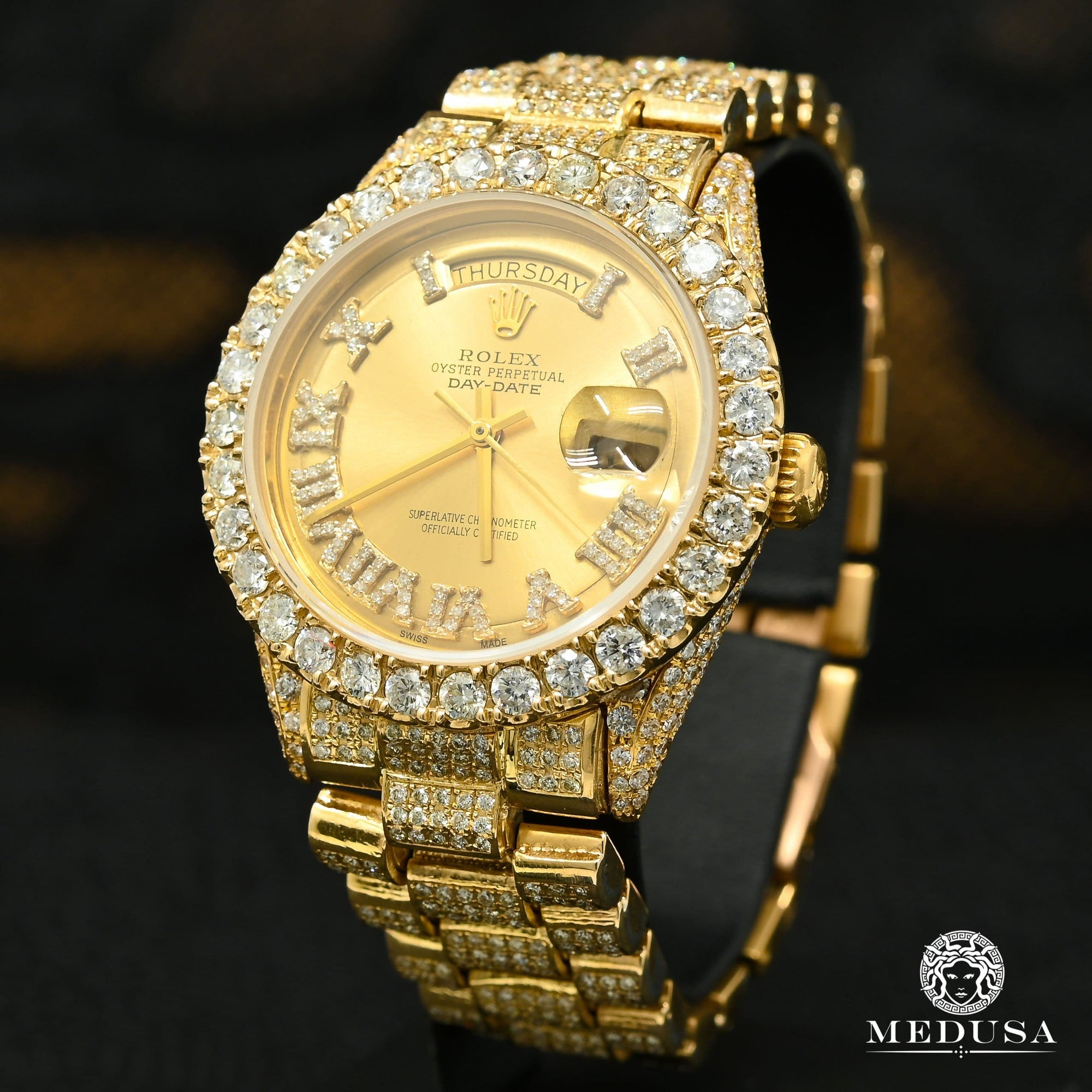 Rolex President Day-Date 36mm - Iced Out