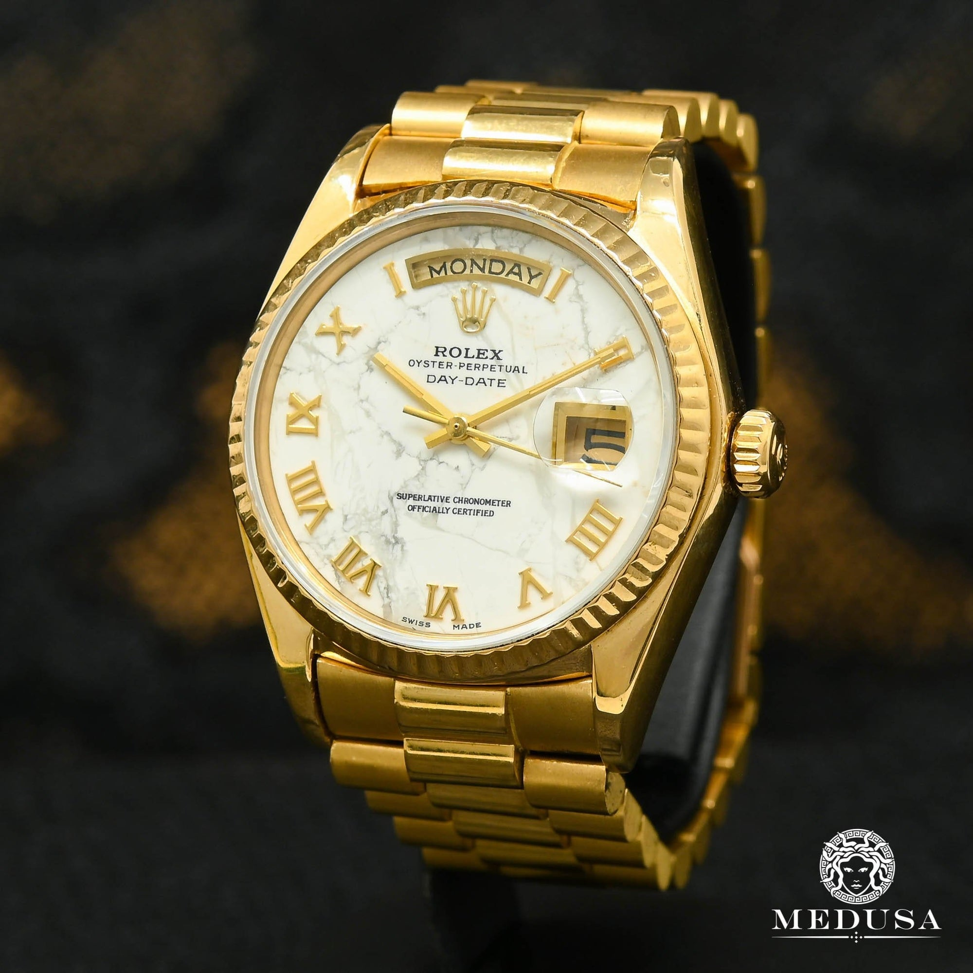 Rolex President Day-Date 36mm - Marble