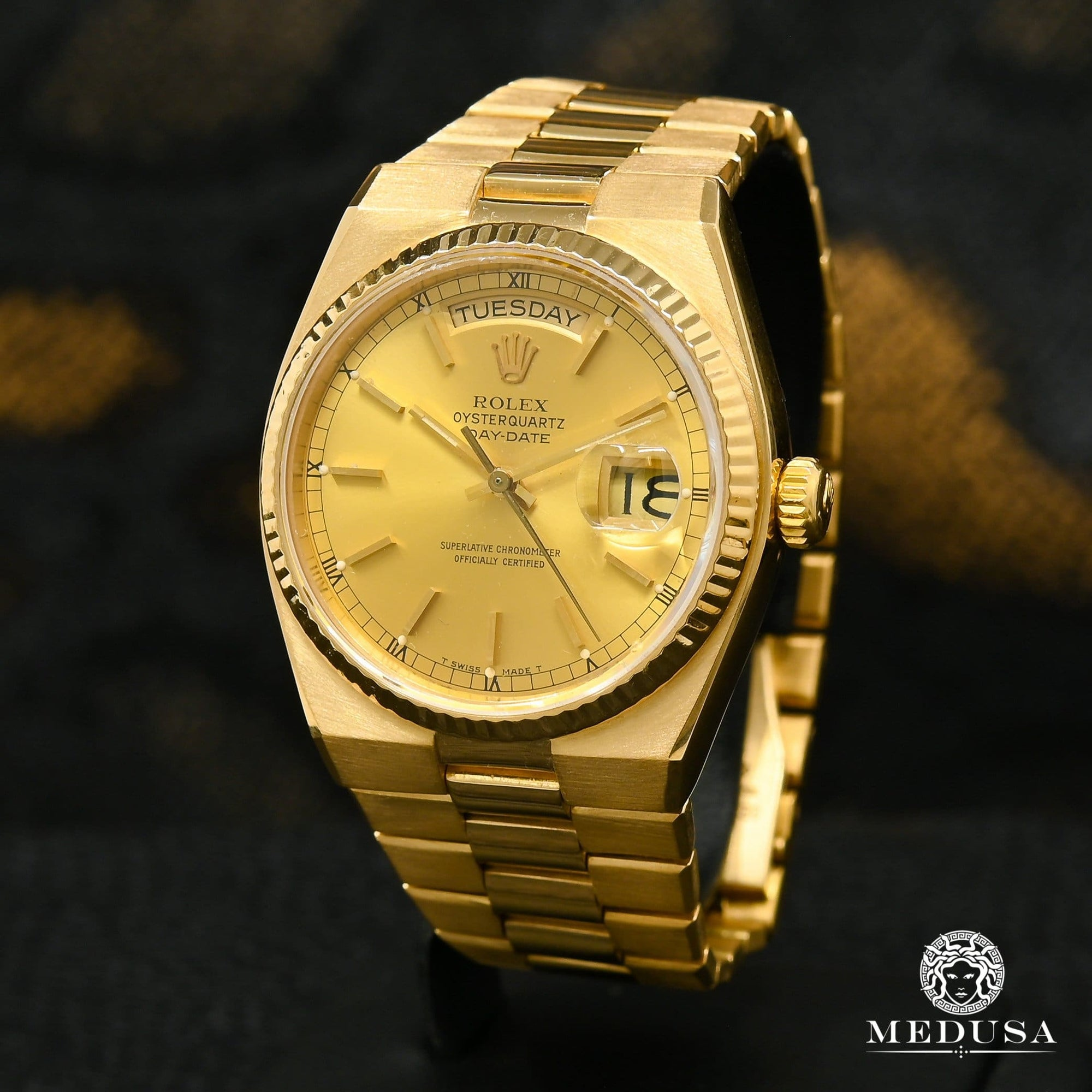Rolex President Day-Date 36mm - Oysterquartz