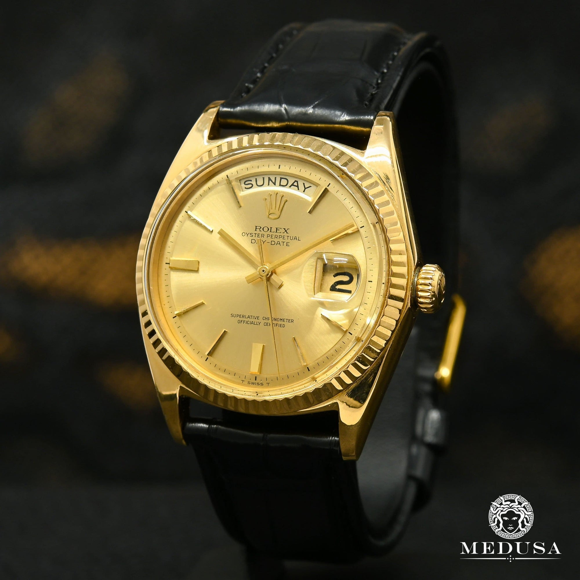 Rolex President Day-Date 36mm - Vintage Leather