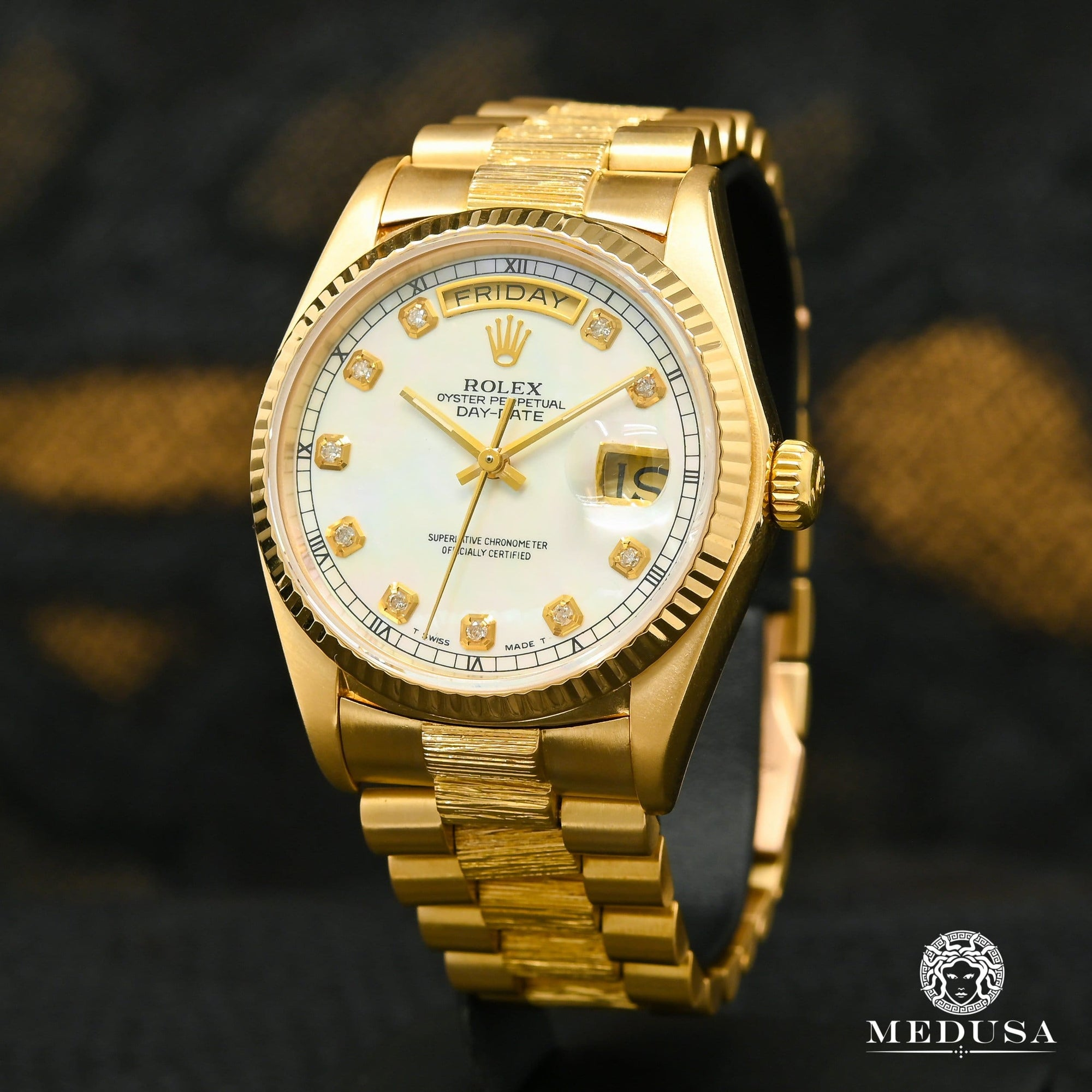 Rolex President Day-Date 36mm - White