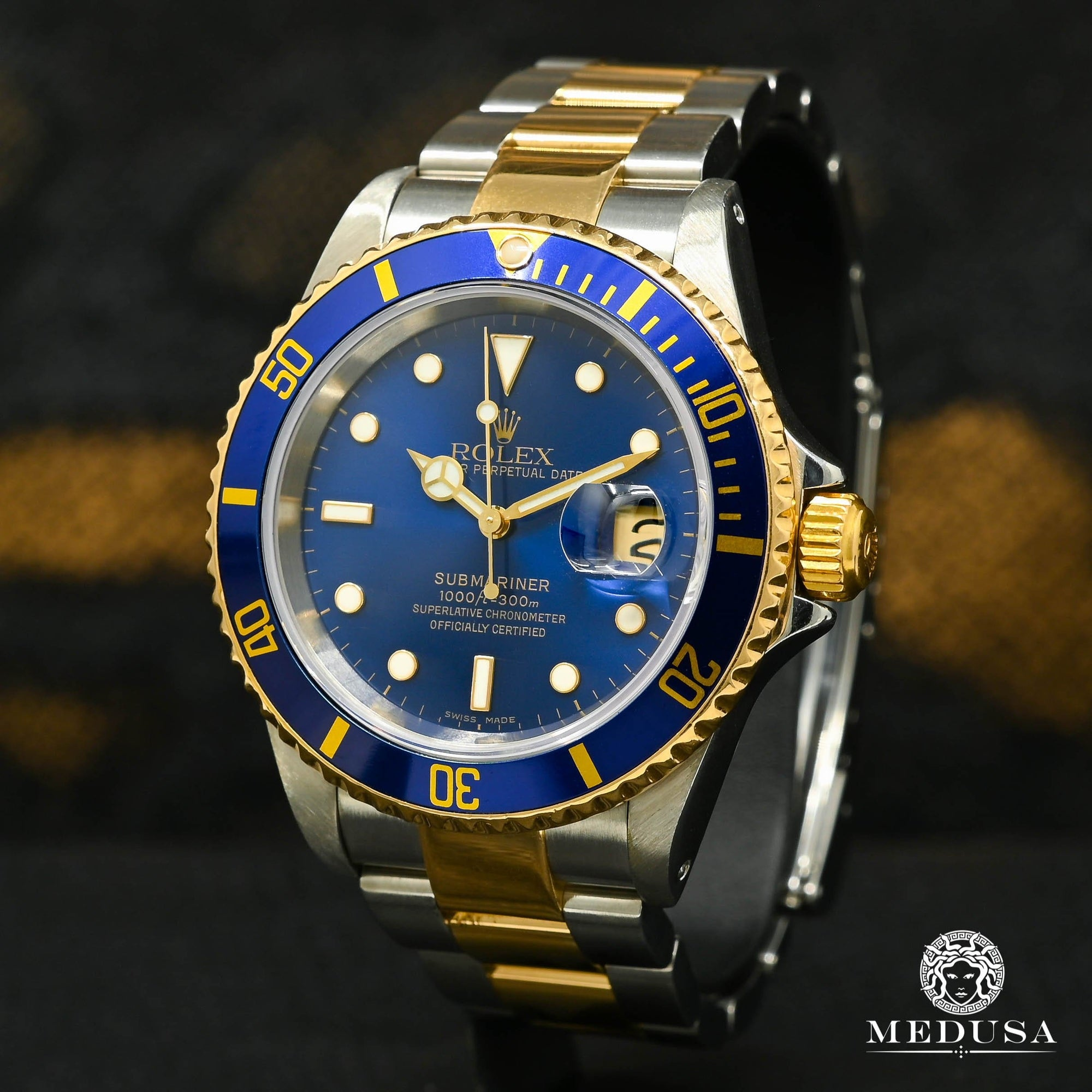 Rolex Submariner 40mm - 2 Tons Bleu