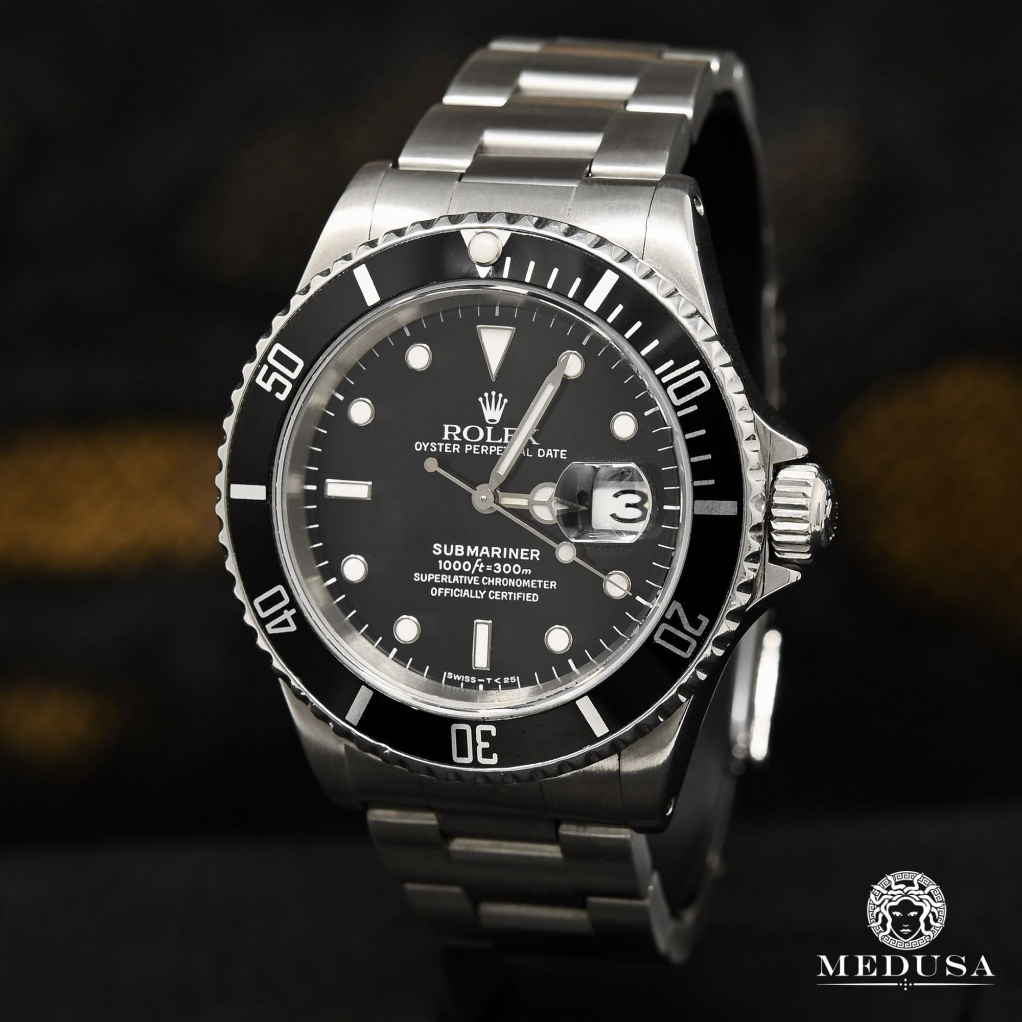 Montre Rolex | Montre Homme Rolex Submariner 40mm - Black Stainless