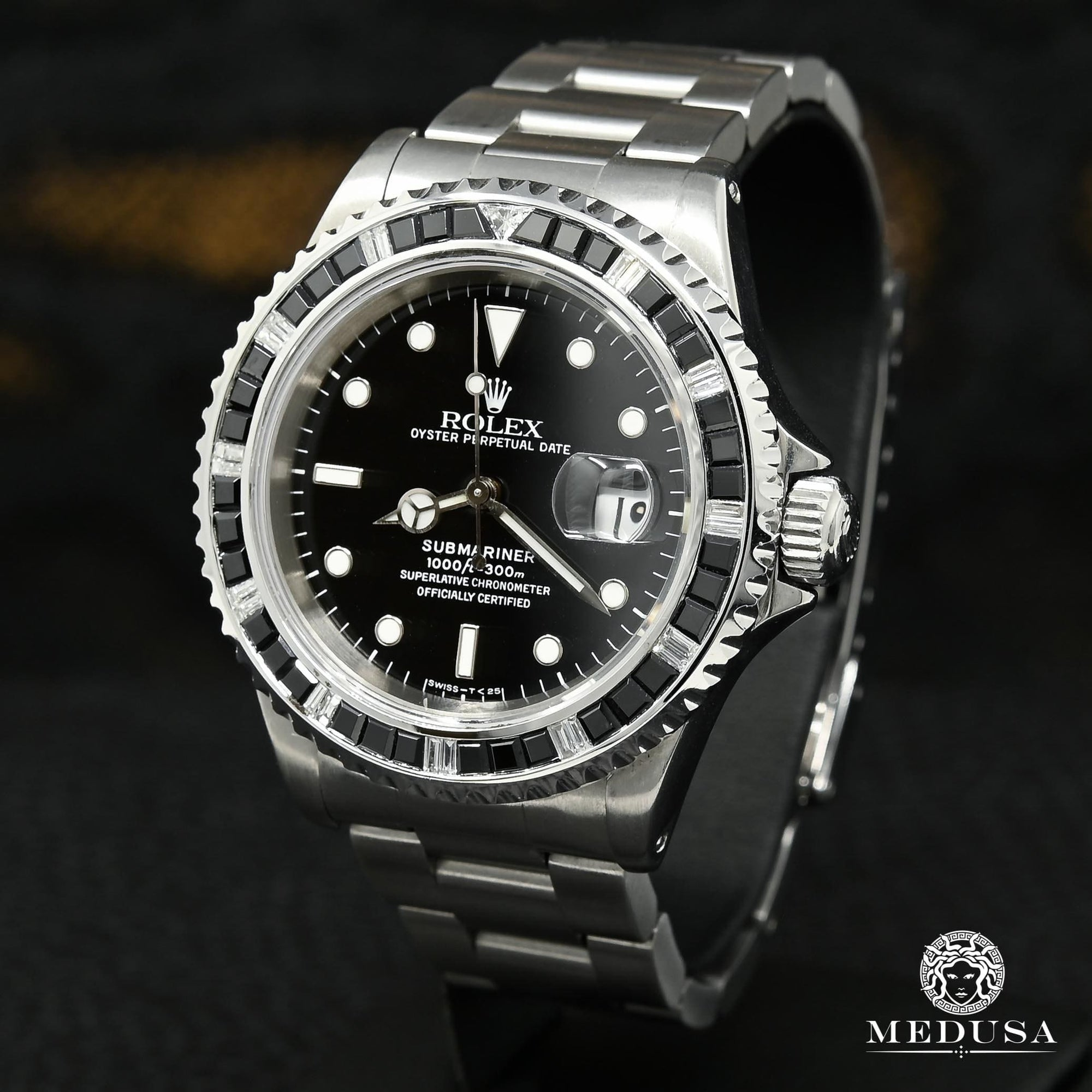 Rolex Submariner 40mm - Diamond & Onyx