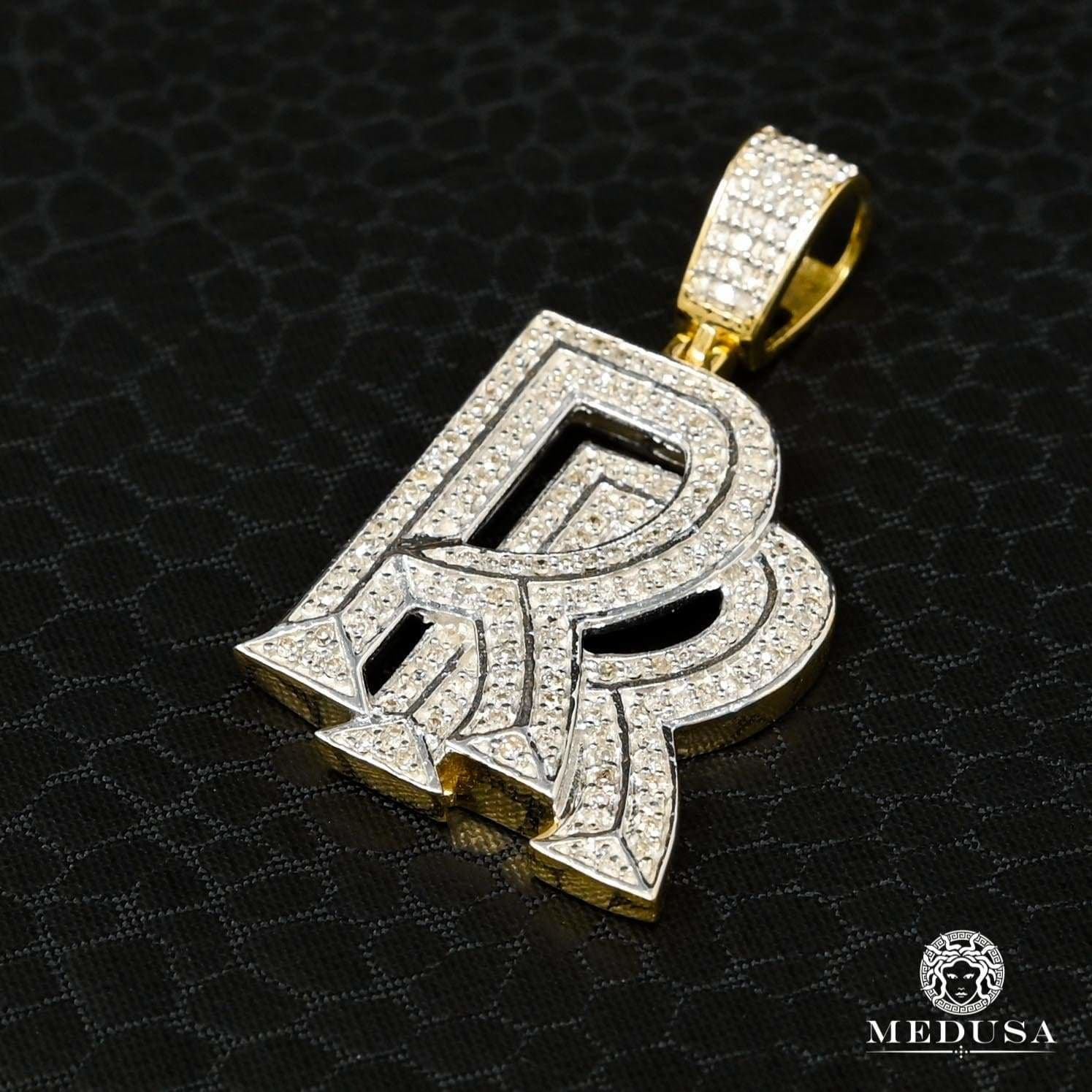 Pendentif à Diamants en Or 10K | Pendentif Divers RollsRoyce D1 - Diamant Or 2 Tons
