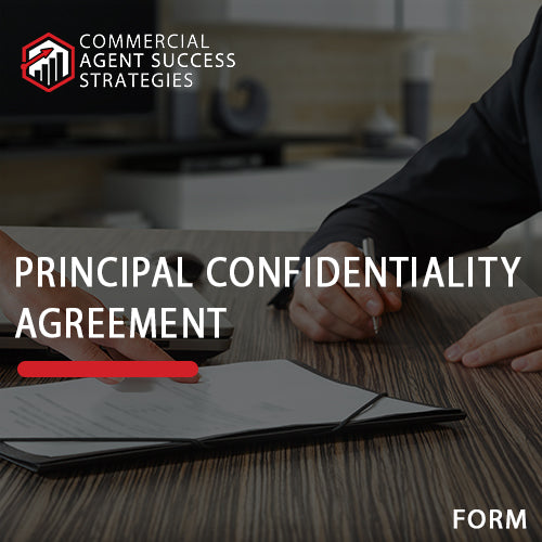 Principal Confidentiality Agreement