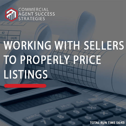 Working with Sellers to Properly Price Listings