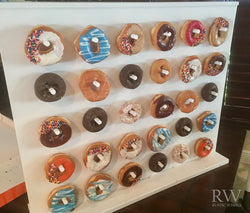 Vertical Donut Stand Peg Board