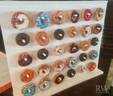 Vertical Donut Stand, Donut Wall, Donut Peg Board
