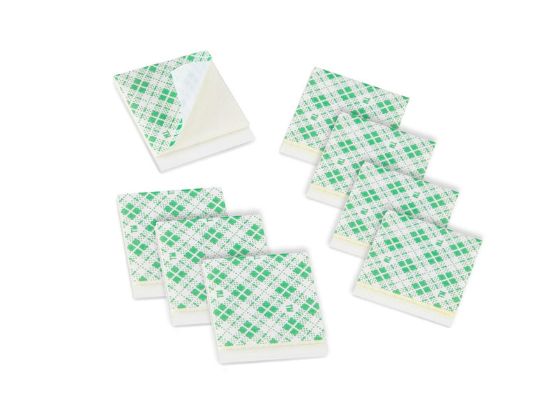 8 Double Sided Foam Tape Squares 3/4 x 3/4""
