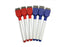 Dry-Erase Markers (Red & Blue 6 Pack)