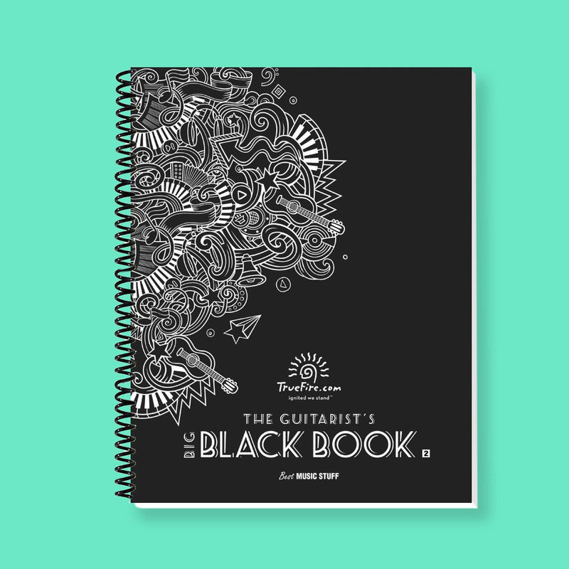 The Guitarist's Big Black Book v2 (Spiral Bound)