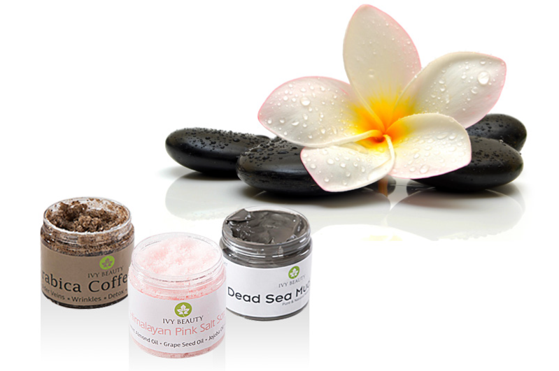 body scrubs, exfoliants