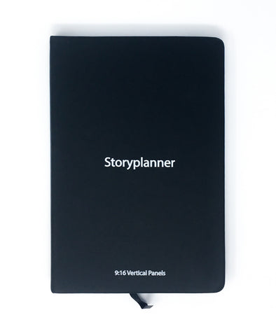 The Storyplanner - 9:16 Vertical Storyboard Notebook