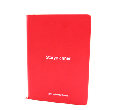 The Storyplanner  - 16:9 Horizontal Storyboard Notebook