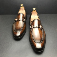 Bit Loafers in Patina