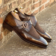 Brogues in Single Monk