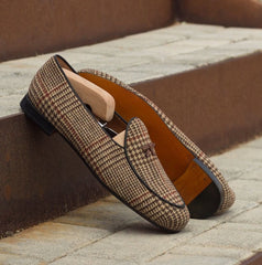 Belgian Loafer in Twead