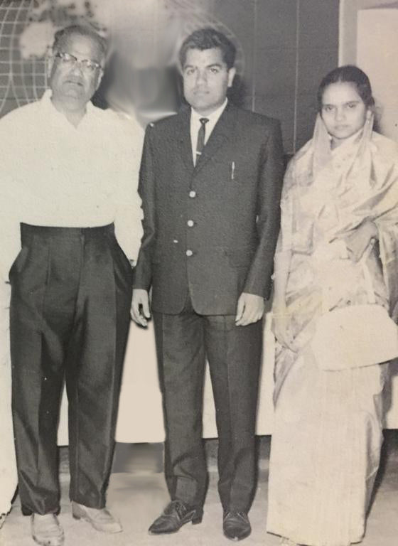 My Grandfather, Dad and Mom