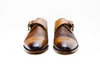 Custom Shoes - Braided Single Monk Strap Cap Toe