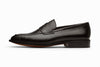 Penny Loafer - Crocodile Black
