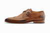 Brogue Monkstraps Shoes - Tan