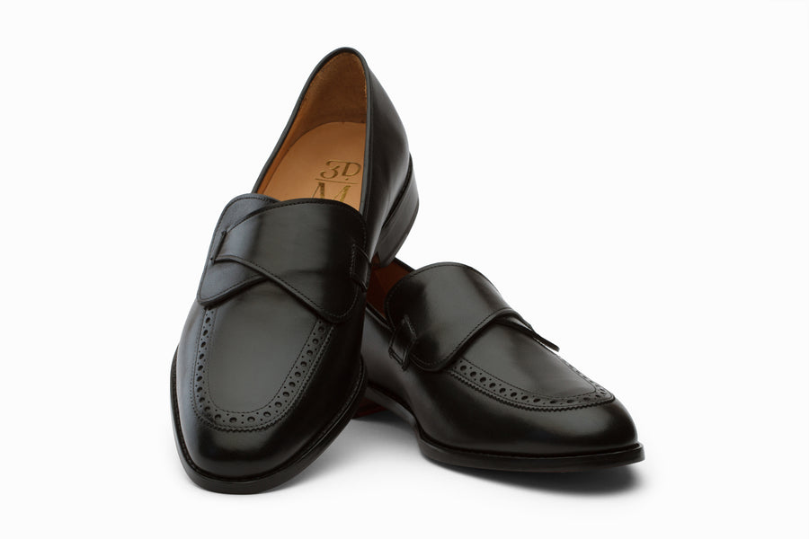 Butterfly Loafers Shoes- Black