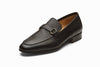 Lorenzo Leather Loafers - Black Grain
