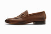 Lorenzo Leather Loafers - Cedar Grain