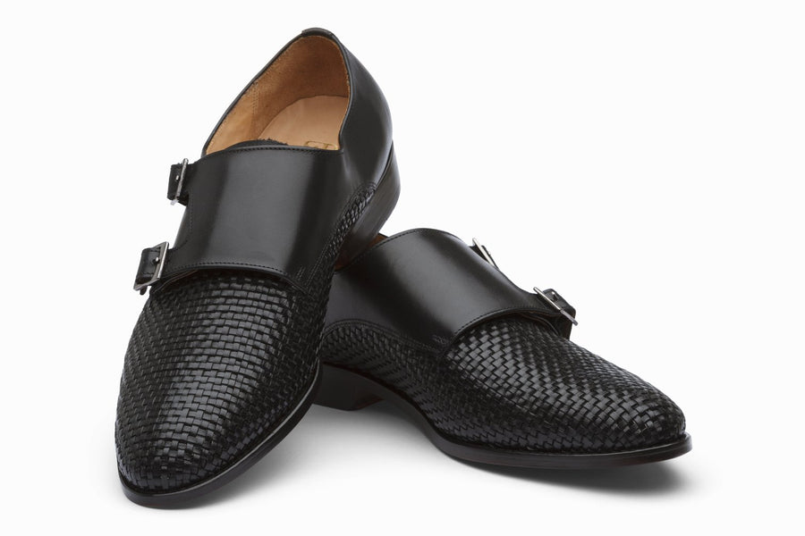 Braided Double Monks - Black