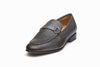 Lorenzo Leather Loafers - Grey Grain