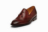 Wingtip Tassel Loafer - Burgundy